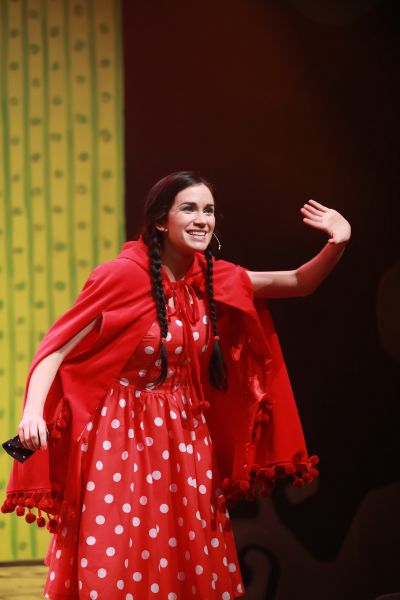 Jolene ohara as little red riding hood