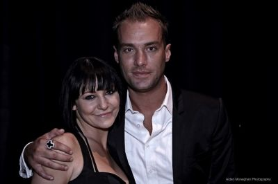 Dancing Shoes Opening Night - Kerrri Quinn with Calum Best