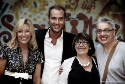 Opening Night, Calum & Angie Best, Marie Jones and Jj Gilmour