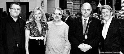 Michael Ockwell, Angie Best, Jj Glimour, Lord Mayor and Martin Lynch