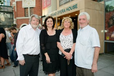 Martin Lynch, Joe Egan, Kate Curley and Mick Curley
