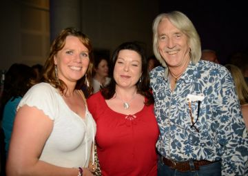Nuala McKeever, Dawn Purvis and Mike Moloney