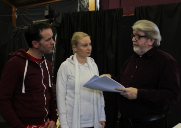 Kevin elliott, tanya thomson and martin lynch (baby its cold outside rehearsals) (12)