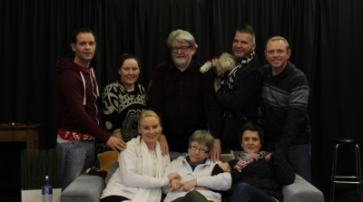 Kevin elliott, tanya thomson and martin lynch (baby its cold outside rehearsals) (3)