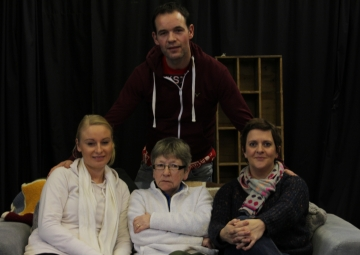 Kevin elliott, tanya thomson and martin lynch (baby its cold outside rehearsals) (5)