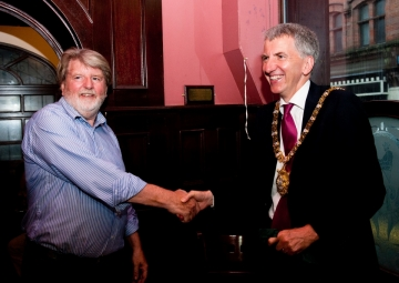 Martin with the Lord Mayor