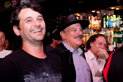 Brian Og Lynch, Pete The Hat and Liam Barr