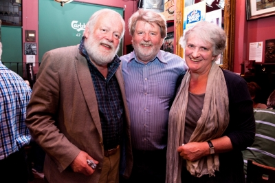 Martin with Michael and his lovely wife Edna Longley