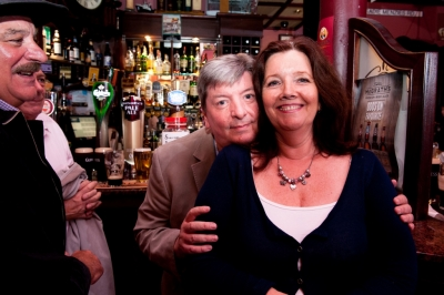 Martin's siblings Brian Lynch and Veronica McEneaney