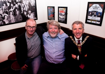 Gerry White, Martin Lynch and Lord Mayor