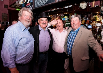 Martin Lynch, Pete The Hat, Liam Barr and Brian Lynch