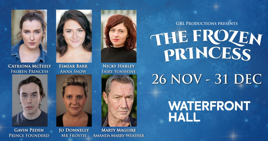 Frozen cast announcement